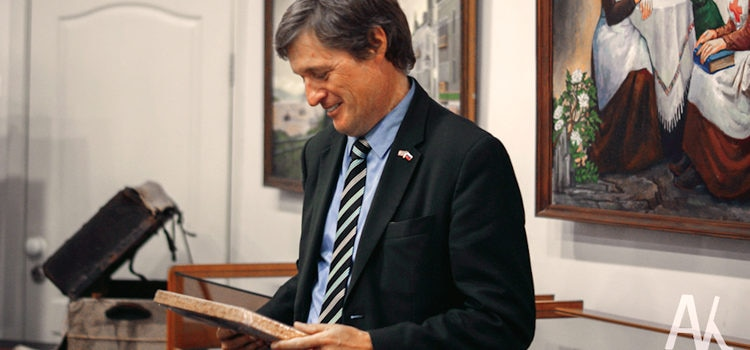Consul General Erik Holm-Olsen (Photo by the Arseniev State Museum)