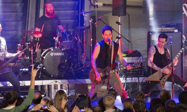 Рок-группа Burn The Ballroom  в Екатеринбурге