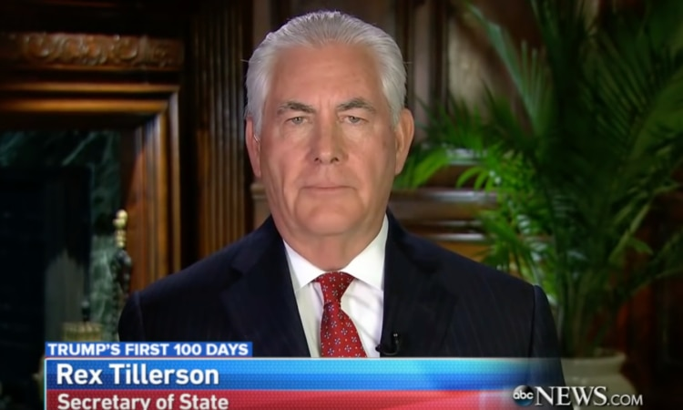Secretary Tillerson's Interview With George Stephanopoulos of ABC This Week