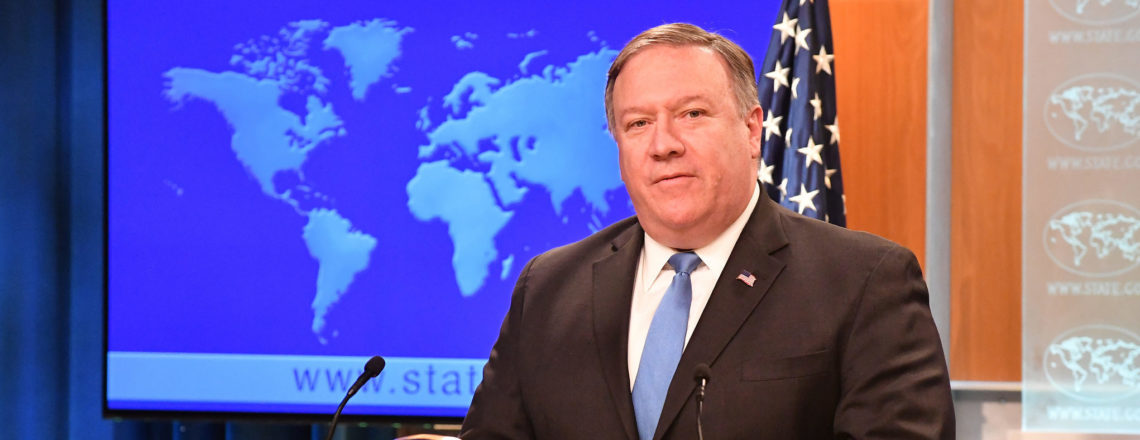 Заявление Государственного секретаря Помпео об опасной эскалации со стороны России