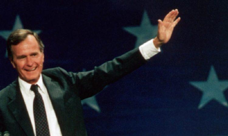 41-й президент США Джордж Герберт Уокер Буш