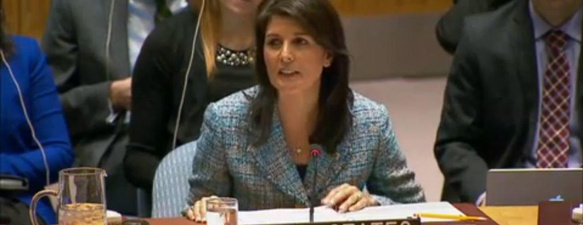 Выступление Посла Хейли на экстренном заседании Совета Безопасности ООН по Украине