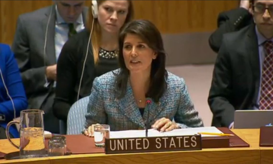Remarks by Ambassador Haley at a UN Security Council ...