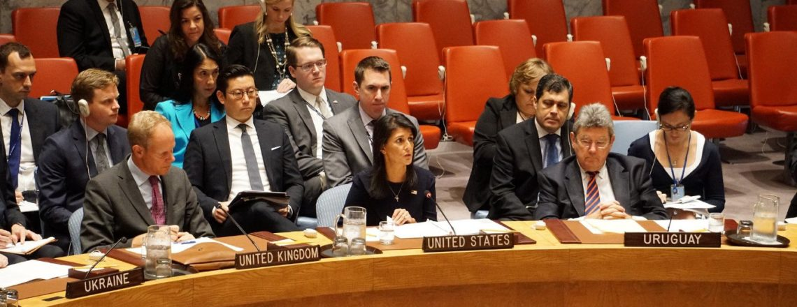 Remarks by Ambassador Nikki Haley at an Emergency UN Security Council Briefing on DPRK