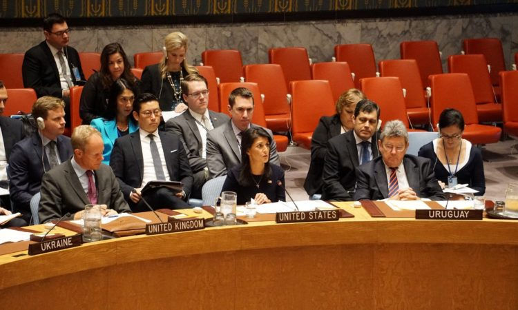 Remarks Ambassador Nikki Haley at an Emergency UN Security Council Briefing on North Korea